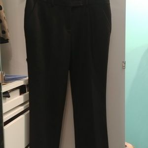 DVF cropped wool pants size 10 in EUC